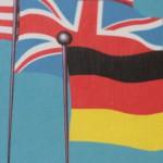 deutsche Fahne, englische Fahne