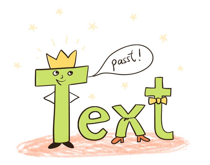 Text, der passt!