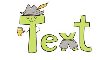 Übersetzung mit Hut und Hose